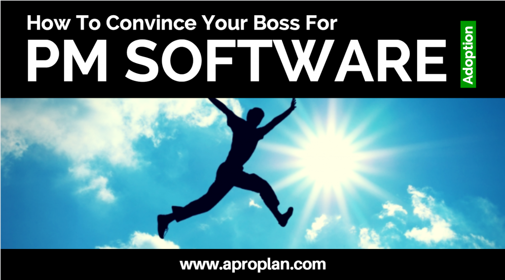 How To Convince Your Boss For Project Management Software Adoption