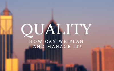 You should have a Quality Management Plan. Here is how you can build it before you know the quality requirements.