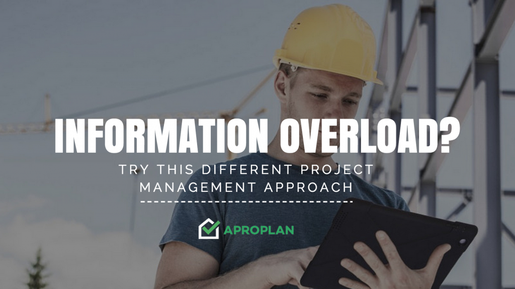 Suffering from Information Overload? – Try This Different Project Management Approach