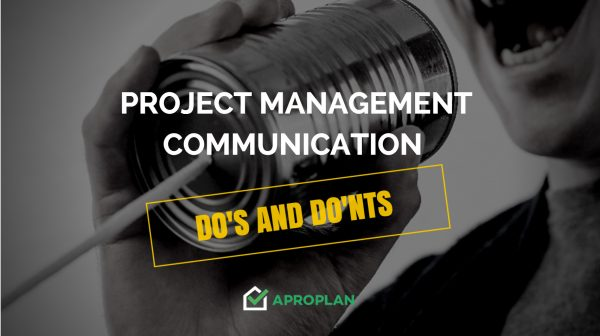 Dos and Donts Aproplan smartbuilding